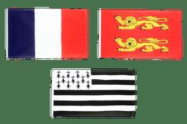 Flaggen Frankreichs