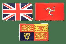 Flaggen Großbritanniens