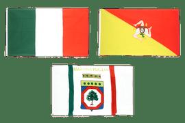 Flaggen Italiens