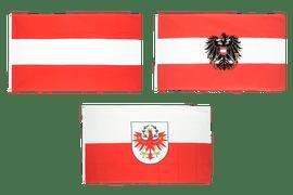 Flaggen Österreichs
