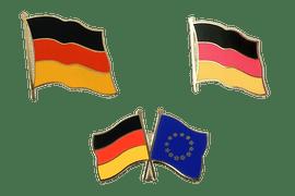 Flaggen Pins und Freundschaftspins