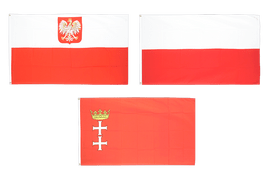 Flaggen Polens