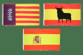 Flaggen Spaniens