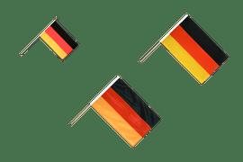Stockflaggen und Stockfahnen