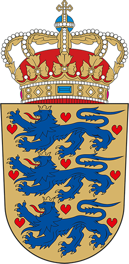 Wappen Dänemark