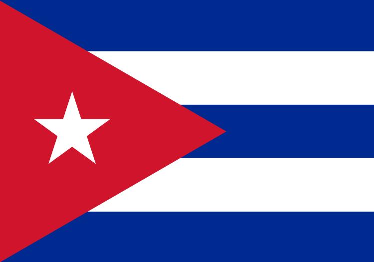kuba flagge kubanische fahne kaufen flaggenplatz. Black Bedroom Furniture Sets. Home Design Ideas