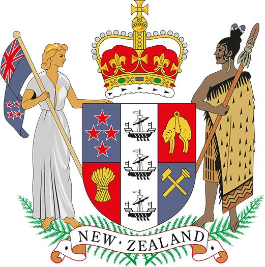 Wappen Neuseeland
