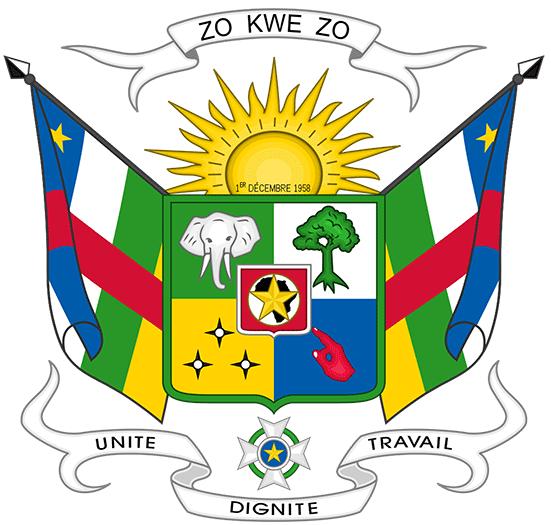Zentralafrikanische Republik Flagge Online Kaufen