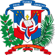 Blason République dominicaine
