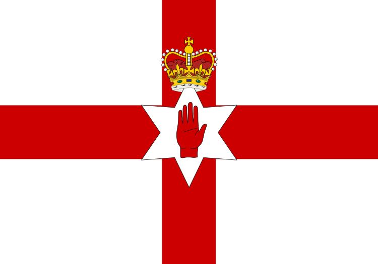 Nordirland Fahne