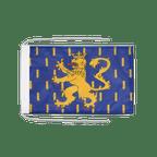 Drapeau avec cordelettes Franche Comté - 20 x 30 cm
