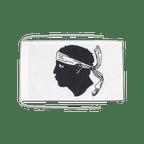 Drapeau avec cordelettes Corse - 20 x 30 cm