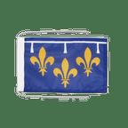 Drapeau avec cordelettes Orléanais - 20 x 30 cm