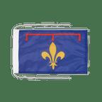Drapeau avec cordelettes Provence - 20 x 30 cm
