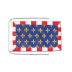Touraine - Flagge 20 x 30 cm