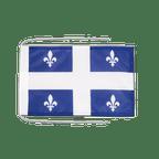 Drapeau avec cordelettes Quebec - 20 x 30 cm