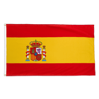 Spain with crest - Premium Flag 3x5 ft CV