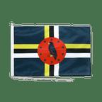 Drapeau pour bateau Dominique - 60 x 90 cm