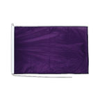 Lila - Bootsflagge PRO 60 x 90 cm