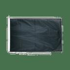 Drapeau pour bateau Noir - 60 x 90 cm
