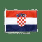 Drapeau pour bateau Croatie - 60 x 90 cm