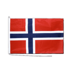 Norwegen - Bootsflagge PRO 60 x 90 cm