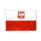 Poland with eagle - Boat Flag PRO 2x3 ft