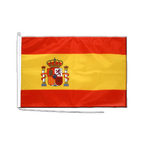 Spain with crest - Boat Flag PRO 2x3 ft