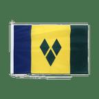 Drapeau pour bateau Saint Vincent et les Grenadines - 60 x 90 cm