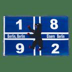 Berlin 1892 Eisern - Flagge 90 x 150 cm