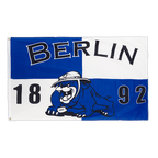 Drapeau Berlin 1892 bouledogue - 90 x 150 cm