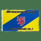 Drapeau Brunswick Deutschlands Nr. 1 - 90 x 150 cm