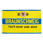 Drapeau Brunswick You'll never walk alone - 90 x 150 cm