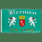 Bremen Die Nr. 1 im Norden - Flagge 90 x 150 cm