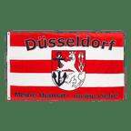 Drapeau Düsseldorf Meine Heimat meine Liebe - 90 x 150 cm
