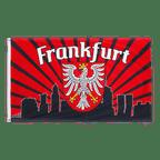 Frankfurt Skyline - Flagge 90 x 150 cm