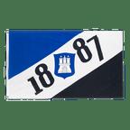 Hamburg 1887 - Flagge 90 x 150 cm
