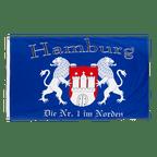 Hamburg Die Nr. 1 im Norden - 3x5 ft Flag