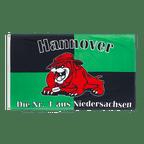 Hannover Bulldogge, Die Nr. 1 aus Niedersachsen - Flagge 90 x 150 cm