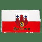 Hamburg-Harburg mit Wappen - Flagge 90 x 150 cm