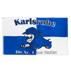 Karlsruhe Bulldog, Die Nr. 1 aus Baden - 3x5 ft Flag