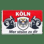 Köln Mer stonn zo dir - Flagge 90 x 150 cm