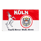 Cologne You'll Never Walk Alone - 3x5 ft Flag