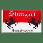 Stuttgart Rössle Schwabenpower - Flagge 90 x 150 cm