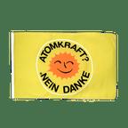Atomkraft Nein Danke - Flagge 30 x 45 cm
