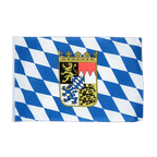 Bavaria with crest - 12x18 in Flag