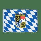 Petit drapeau Bavière avec blason - 30 x 45 cm