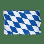 Petit drapeau Bavière sans blason - 30 x 45 cm