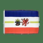 Petit drapeau Mecklembourg-Poméranie-Occidentale - 30 x 45 cm