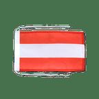 Drapeau avec cordelettes Autriche - 20 x 30 cm